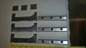 Set of 3 Moulding Cutter Knives Blades Shaper Planer Router Craftsman ?