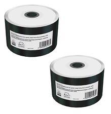 100 MediaRange Pocketsize 8cm Printable Mini blank CD R discs 200MB 24x MR257