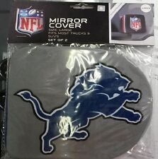 NFL Detroit Lions Rearview Mirror Covers (2pk) Large--Fits Most Trucks and SUV's