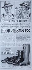 VINTAGE PRINT AD 1937 (XX44)~HOOD RUBBER CO. WATERTOWN, MASS. FARM BOOTS