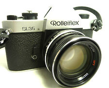 SUPER GREAT CONDITION GERMANY ROLLEIFLEX SL 35 W/50mm f1.4 CAMERA (GERMANY)