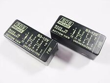 2 x SDS Relais S3-12V Gold 12V 3xEIN 1xAUS 250V 4A Germany #13R100#