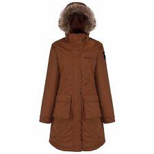 Regatta Womens Lumexia Wind Waterproof Breathable Parka Jacket Outdoor Long Coat