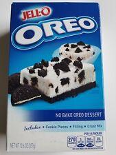 NEW Jello No Bake Oreo Dessert 12.6 oz FREE WORLDWIDE SHIPPING