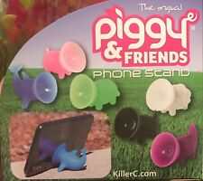 THE ORIGINAL PIGGY AND FRIENDS CELL PHONE STAND SUCTION CUP MOUNT UNIVERSAL