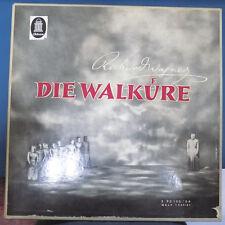 "WILHELM FURTWANGLER ""Die Walkure"" by Wagner Electrola WALP 1257/61 5xLP Box Set"