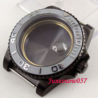 5 Models 40mm PVD Watch Case Fit ETA2836 Movement Ceramic Bezel For Men'Watch
