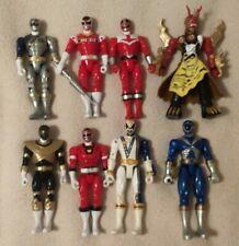 Lot Power Ranger Figures, Zeo, SPD, Wild Force, villain, Wolf, Red, Black, Blue