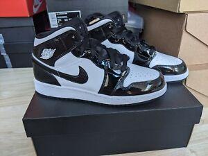 Nike Air Jordan 1 Mid SE GS Carbon Fibre 'All Star' - UK4 4.5 5 5.5 6