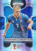 2018 Panini Prizm World Cup Russia '18 Iceland Hyper Parallel (#100 - #107)