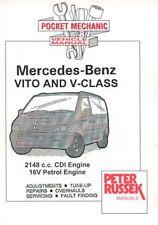 MERCEDES BENZ VITO V CLASS 2148 CC CDI 16V ENGINE 108 110 112 V200 MANUAL