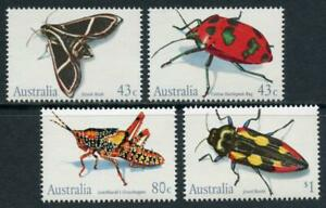Australia: 1991 Insects (1211-1214) MNH