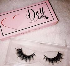 542ef98ce43 DOLL BEAUTY LASHES 3D MINK BRAZILIAN HAIR FALSE EYELASHES STRIP LASH OLIVIA
