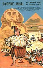 Publicité ancienne pharmaceutique Dyspné-Inhal  Egypte A. Fourton