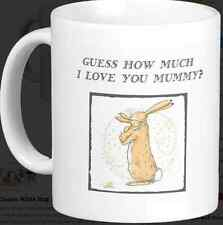 Guess How Much I Love you Mug And Coaster Set Daddy Mummy Nana birthday Gift