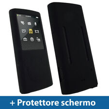 Nero Custodia Silicone per Sony Walkman NWZ-E463 E464 E Series Video Skin Case