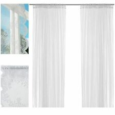 Polyester Tape Top Modern Net Curtains