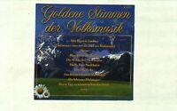 2 CD'S / NO BOX / GOLDENE STIMMEN DER VOLKSMUSIK / IN JEWEL CASE / KONVOLUT