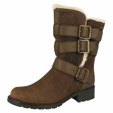 Clarks Ladies Casual Utility Style Boots Orinoco Bloom