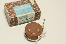 Vintage Wards HAWTHORNE Vertical Style Automatic Fly Reel Fishing - Mint!