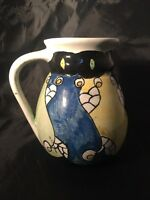 Vintage Antique I W N'ton July 1922 Art Deco Jug