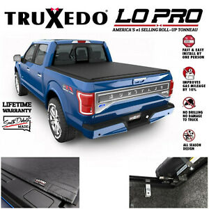 Truxedo LoPro QT Roll Up Inside Rail Tonneau Cover Fits 15-20 Ford F150 6'6 Bed