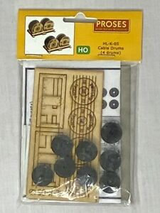 Proses HL-K-05 Wagon Load Kit Cable Drums (4Pcs) HO/OO Scale