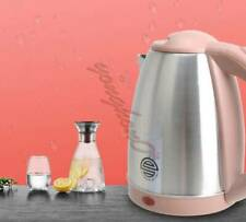 110V Electric Kettle 1.8L Portable Travel Water Boiler 1200W Stainless Steel