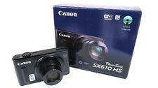 Canon PowerShot SX610 HS, Wi-Fi Enabled - Black