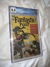 Fantastic Four #2! (1962) CGC 6.5 First Appearance Of Skrulls! New Case!