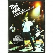 The WHO-Live At The Royal Albert Hall DVD 11 tracks POP & ROCK CONCERT NUOVO