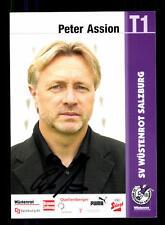 Peter Assion Autogrammkarte SV Wüstenrot Salzburg Original Signiert+A 148434
