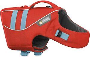 New RUFFWEAR Float Coat Dog Life Jacket Vest Flotation Device Sockeye Red, Sz XL
