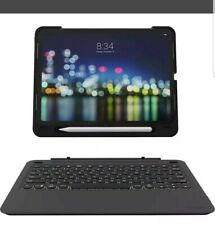 "ZAGG - Slim Book Go Keyboard Folio Case for Apple® iPad® Pro 11"" - Black"