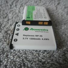 POWEREXTRA NP-45 BATTERY and NP-45A