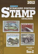 SCOTT STANDARD POSTAGE STAMP CATALOGUE 2012 - NEW PAPERBACK BOOK