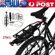 Luggage Carrier Bicycle Mountain Bike Rear Rack Seat Post Mount Pannier AU