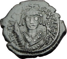 TIBERIUS II CONSTANTINE Nicomedia Follis Authentic Ancient Byzantine Coin i64733