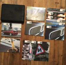 BMW 3 SERIES COMPACT E46 OWNERS MANUAL HANDBOOK PACK STAMPED SERVICE BOOK WALLET