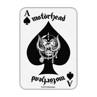 Motörhead Ace of Spades Card Logo Patch [UK Import] Rock Memorabilia Motorhead