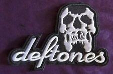 Deftones Patch Logo Art Rock Heavy Metal Thrash Speed Metal Sew /Iron
