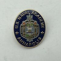 US Naval Academy Annapolis Lapel Hat Pin Badge   K3