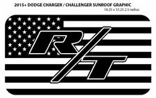2015+ Dodge Charger / Challenger RT R/T Sunroof Vinyl Graphic -Free Shipping!