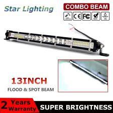 "Ultra-thin 12inch 300W LED Light Bar Spot Flood Combo Offroad SUV Single Row 12"""