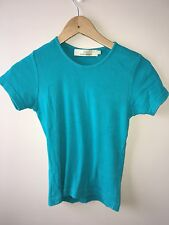 Cotton Traders Womenswear Top Green Size 10/12<NH2069