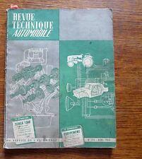 Revue technique automobile étude complète SIMCA 1300   AVRIL 1964