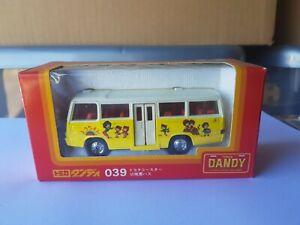 TOMICA DANDY 039 - MITSUBISHI ROSA KINDERGARDEN BUS [YELLOW] NEAR MINT VHTF
