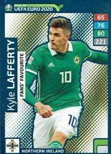 #344-NORTHERN IRELAND-KYLE LAFFERTY PANINI EURO 2016