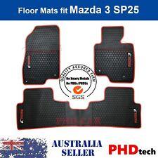Premium Quality Mazda3 2014~2019 Tailor custom-made rubber car floor mats