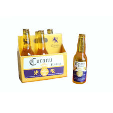 Dollhouse 6Pcs Bottles of Corona Beer Carton Set 1:6 Model Miniature Accessories